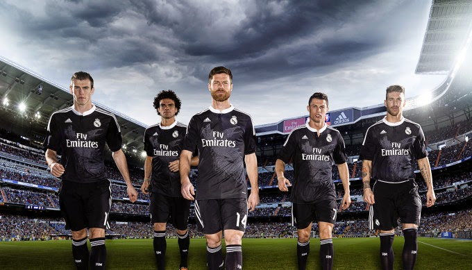 9e36be563 Yohji Yamamoto designed the new adidas Real Madrid third kit team jerseys  for the 2014-2015 season.