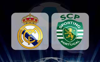 القنوات المجانية الناقلة لمبارة سبورتيج لشبونة ضد ريال مدريد في دوري أبطال أروبا