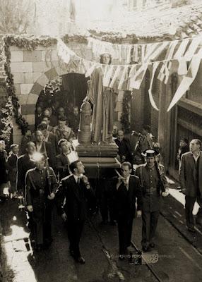 Procesión de Santa Bárbara (Barruelo, 1955)
