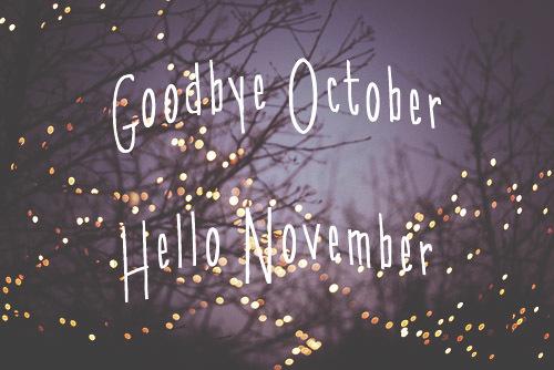 Xin chào tháng 11-stt chào tháng 11