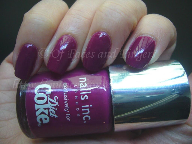 Nails Inc Paris Diet Coke