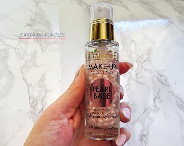 baza pod makijaż, Bielenda make up, baza perłowa pod makijaż