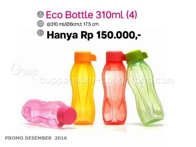 Eco Bottle 310ml Promo Tupperware Desember 2016