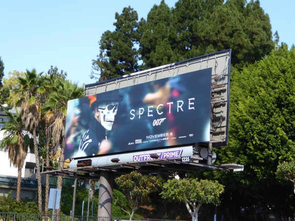 James Bond Spectre billboard