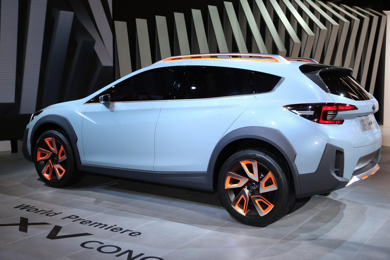 Subaru XV Concept Previews Next Crosstrek