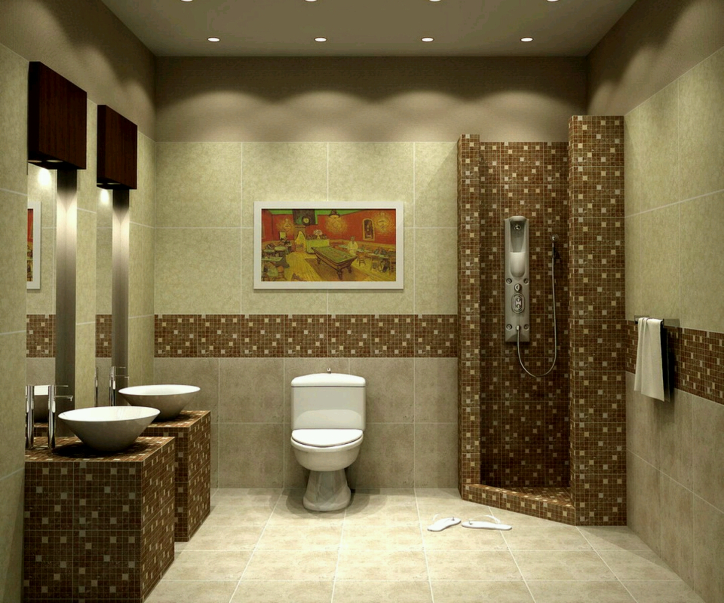 Bathroom Ideas: New Home Designs Latest.: Luxury Bathrooms Designs Ideas
