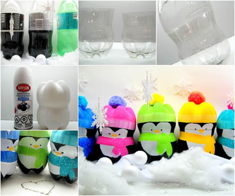 M s y m s manualidades reciclando botellas de pl stico for Plastic bottle decoration ideas