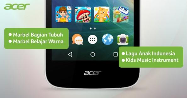 Media Interaktif di Acer Liquid Z320