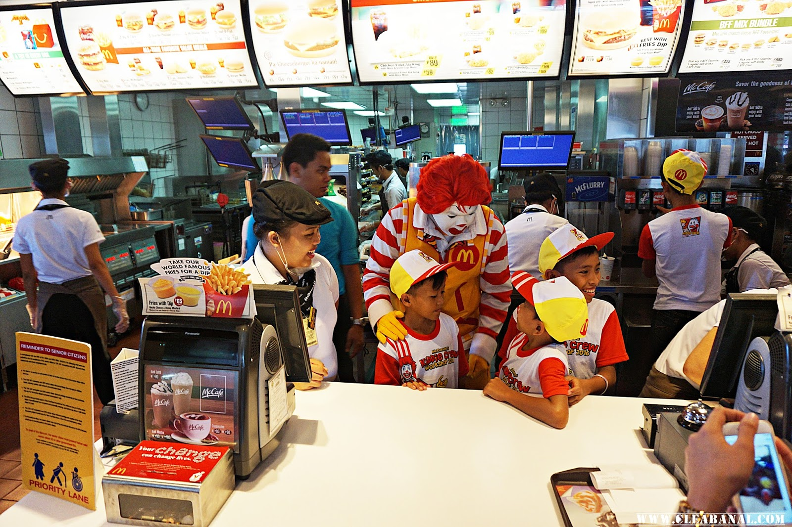mcdonald s kiddie crew workshop 2016 clea banal for the first time kiddie crew members get to take home a cd kiddie crew theme song and ronald dance so fun will not stop even after the workshop