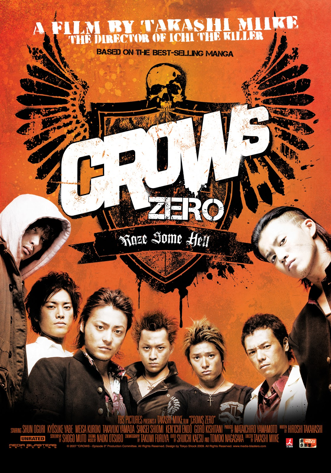Crow Zero 1 Sub Indo : Download, Video, Crows, Movie
