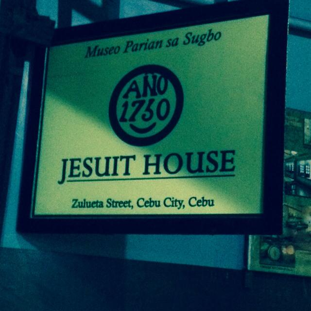 Museo Parian sa Sugbu at the Jesuit House of 1730 in Cebu City Philippines