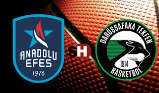 Highlights: Anadolu Efes Istanbul - Darussafaka Dogus Istanbul Today 18/1/2018 online Euroleague