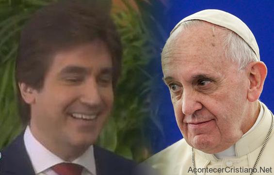 Dante Gebel y el Papa Francisco