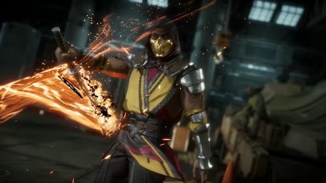 video game news: Mortal Kombat 11 Get New Jacqui Briggs and Kotal Kahn Trailer Game