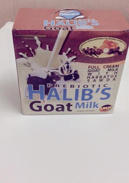 minum susu kambing elak anak lahir jaundis