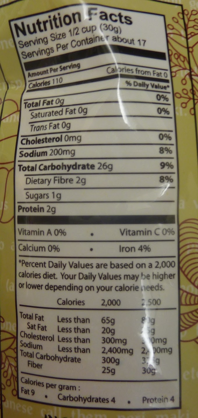 Brown Rice Cakes Nutrition Facts Nutrition Ftempo