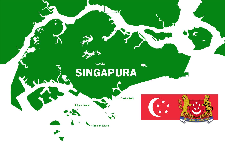 Gambar Peta Buta Singapura