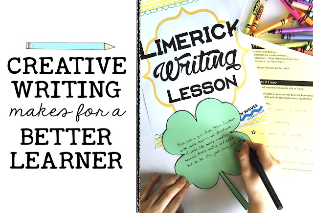Easily infuse creative writing into your classroom with these fun creative writing lesson plans for the middle school!