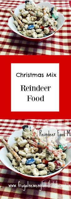 Christmas Reindeer Food Trail Mix