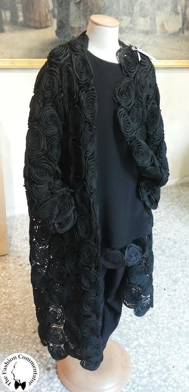 Valentina Cortese - Mostra Milano - Maurizio Galante black roses