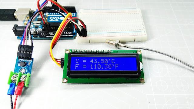 MAX6675 ARDUINO LCD I2C CNC STORE BANDUNG