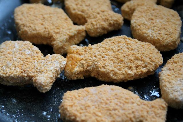 Knusperfische Gesund Kochen fuer Kinder Kinderernaehrung mit der Maus und bofrost Jules kleines Freudenhaus