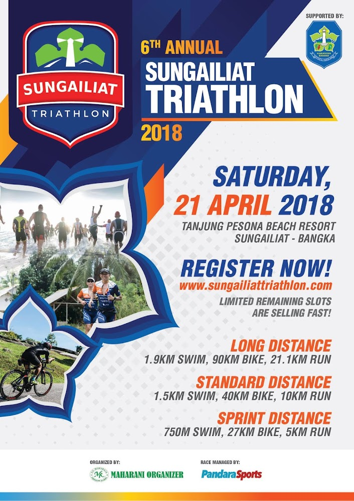 Sungailiat Triathlon • 2018