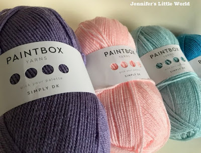 Painbox yarns in pastel