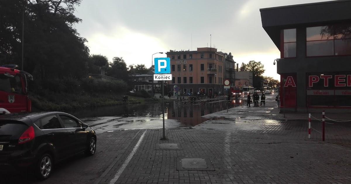 49ae6ab0c Zielonogorska.pl Wiadomości: Heavy rain caused floodings in Zielona Góra,  Poland