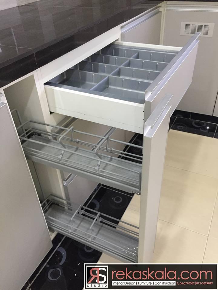 Aksesori Dalam Kabinet Dapur Desainrumahid Com