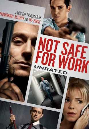 Poster Of Not Safe for Work 2014 In Hindi Bluray 720P Free Download
