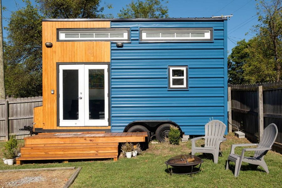 Tiny House Town The Tennessee Tiny House 185 Sq Ft
