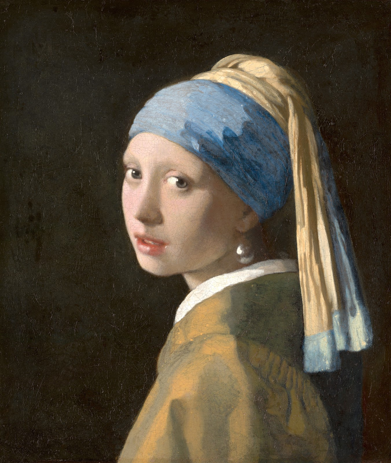 Johannes Vermeer | The Girl with a Pearl Earring, 1665 ...