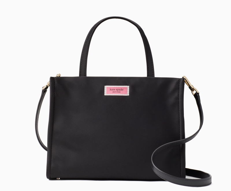 Kate Spade Sam Medium Satchel Bag in Black