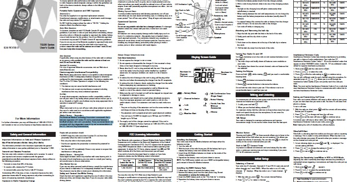 motorola talkabout t6510 manual download manual pdf online rh downloadmanualpdf blogspot com Motorola Talkabout Blue Motorola Talkabout User Guide