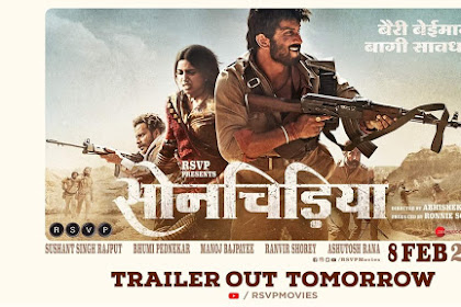 Vionet87.blogspot.com - Sonchiriya 2019 ~ upcoming Bollywood movie,budget ,detailed,Genre