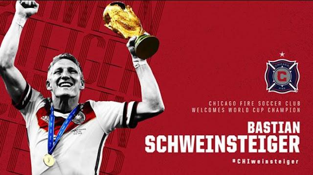 Bastian Schweinsteiger é o novo reforço do Chicago Fire