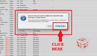 how to delete a song from itunes library