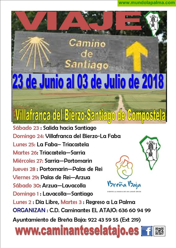 """EL ATAJO: termina el """"Camino Francés de Santiago"""""""