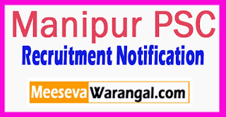 Manipur PSC Recruitment 2014 Apply (Public Service Commission) Vacancies Apply