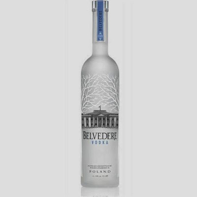 Vodka Belvedere.