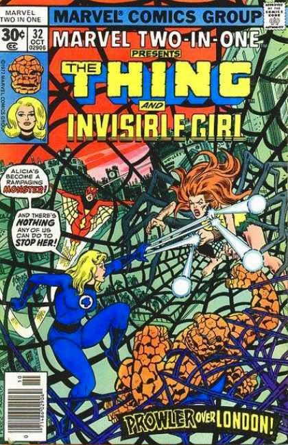 Marvel Two-In-One 32 - La Cosa y La Chica Invisible