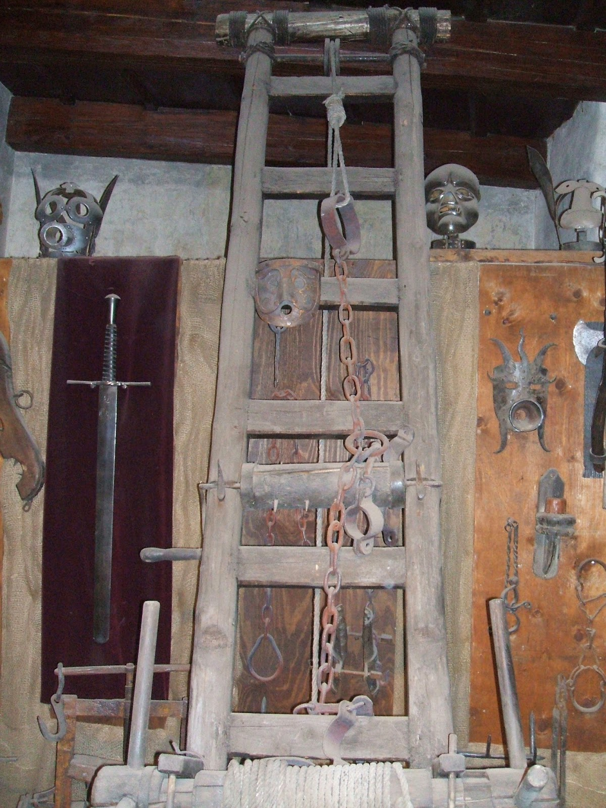 Joniandscottinprague Scott S Medieval Torture Chamber Photos