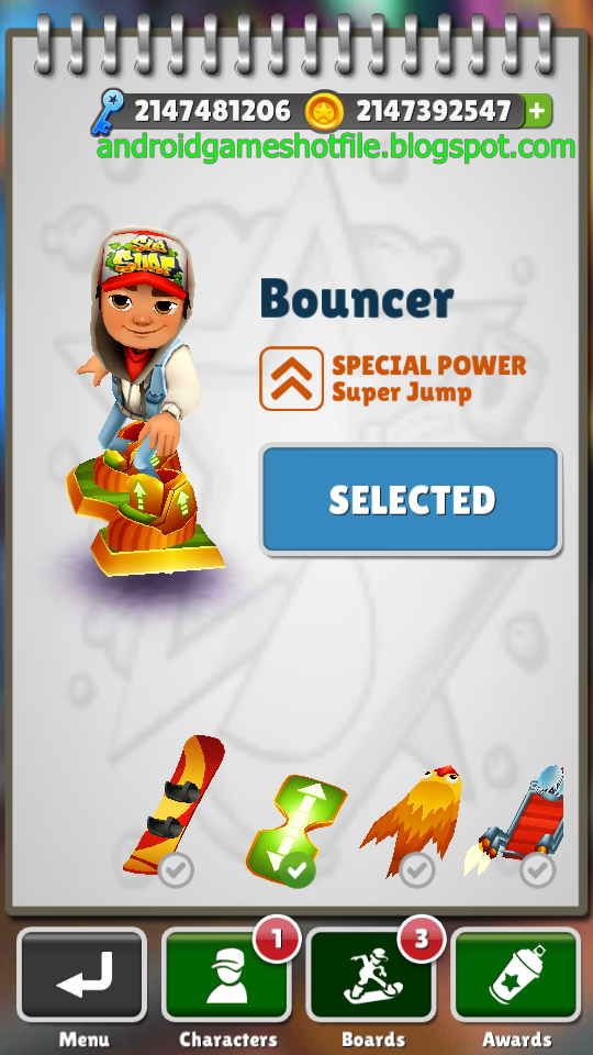 download the game subway surfers with unlimited coins and keys