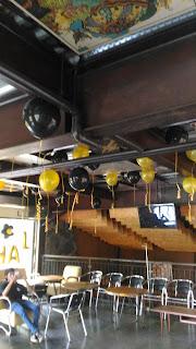 pusat balon gas pelepasan