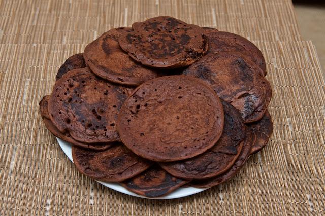Van Houten - Cacao - Cacao poudre non sucré - Dessert - Chocolat - Hot chocolate - Pancakes - crêpes