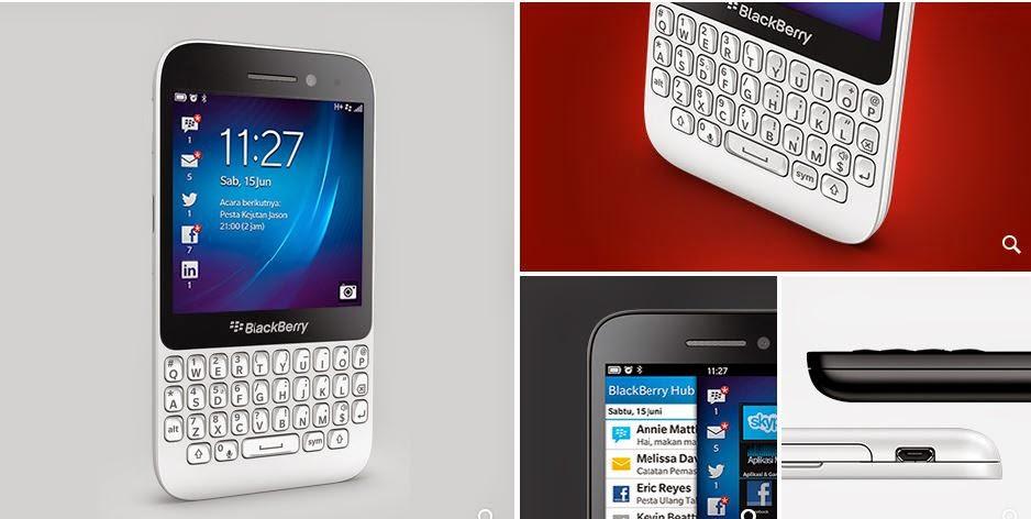 Fitur dan Spesifikasi Blackberry Q5
