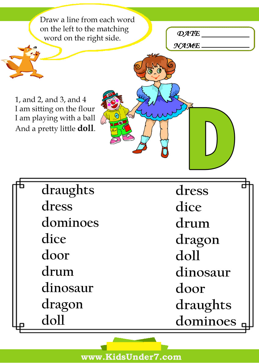 words that start with the letter a pictures of words starting with the letter d letter d 1735