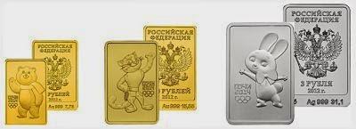 серия золотых и серебряных монет Леопард, Мишка и Зайка для инвестиций