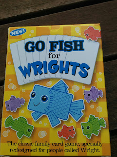 Go Fish redesigned for people called Wright!